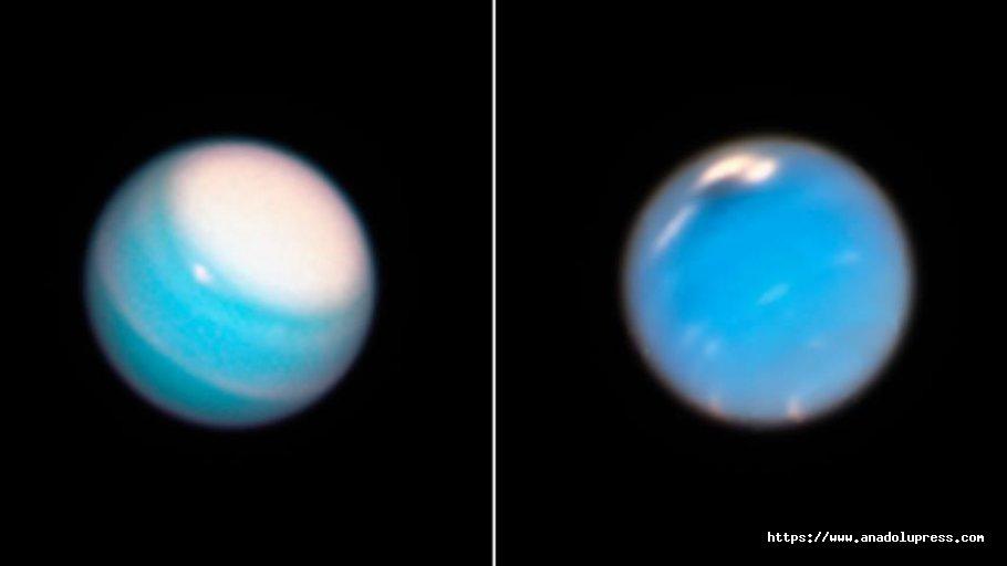 Neptün Ve Uranüs'teDev Fırtınalar