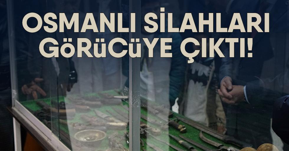 Osmanlı silahları görücüye çıktı!
