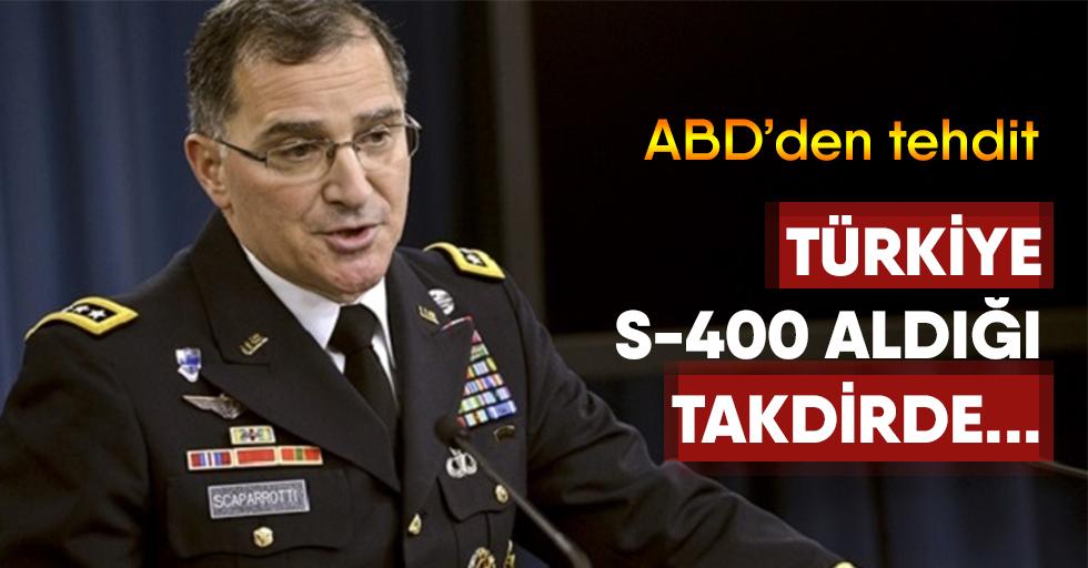 ABD'den,Türkiye'ye küstah tehdit
