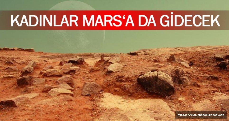 Kadınlar Mars'a Da Gidecek