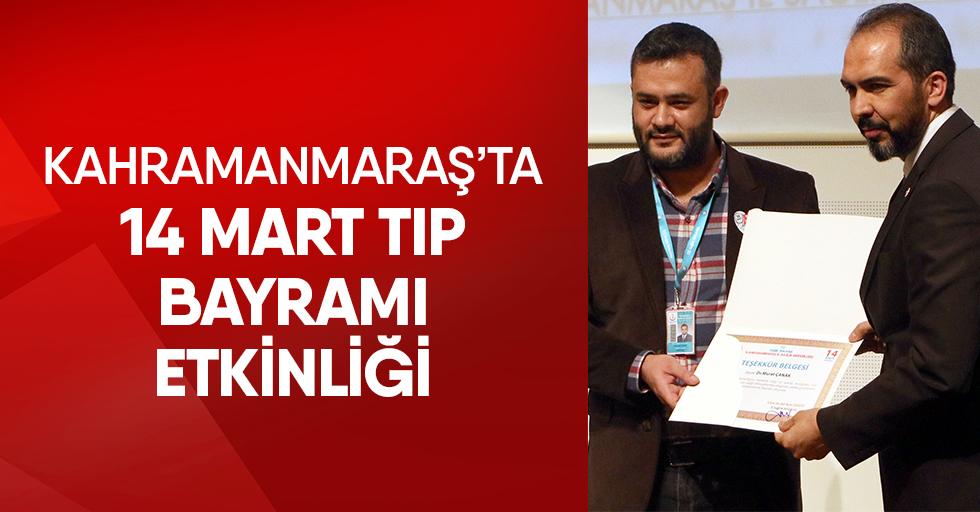 Kahramanmaraş'ta 14 Mart Tıp Bayramı Etkinliği