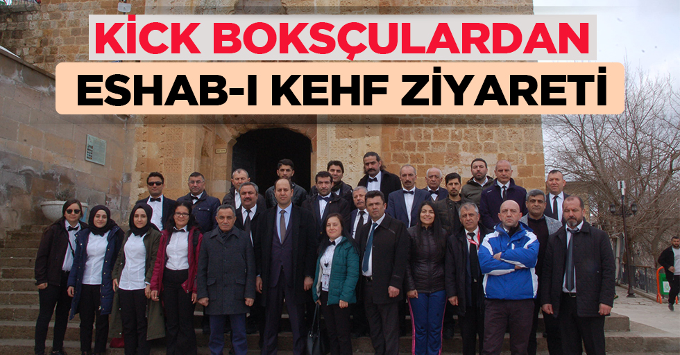 Kick Boksçulardan Eshab-I Kehf Ziyareti