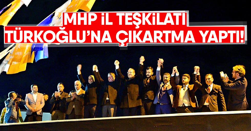 MHP il teşkilatı Türkoğlu'na çıkartma yaptı!
