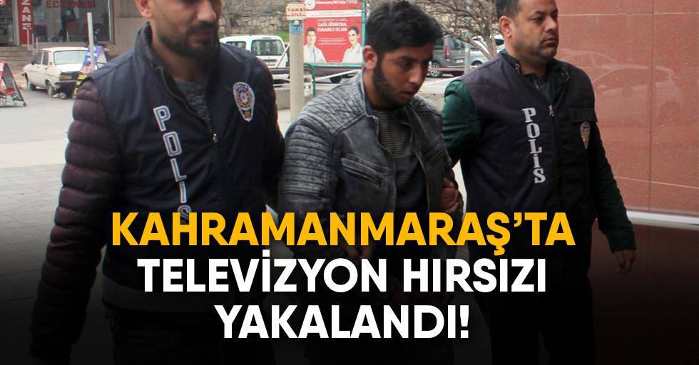 Televizyon hırsızı yakalandı!