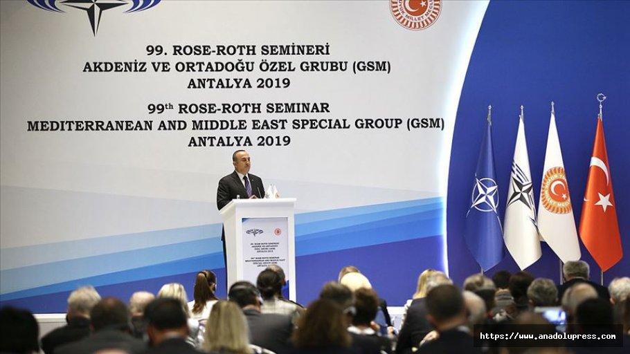 Dışişleri Bakanı Çavuşoğlu: Fransa Kendi Karanlık Tarihine Baksın
