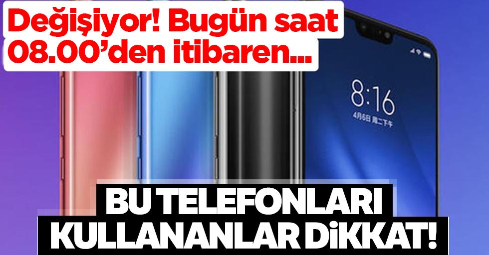 Eğer bu model telefonunuz varsa dikkat!Android'de değişikliğe gidildi kontrol edin...