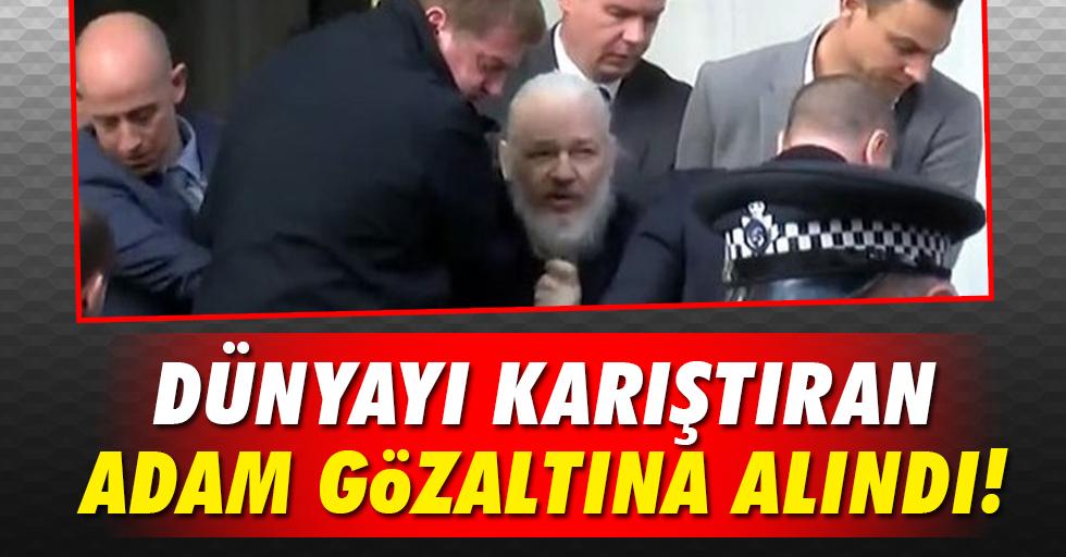 Julian Assange gözaltına alındı