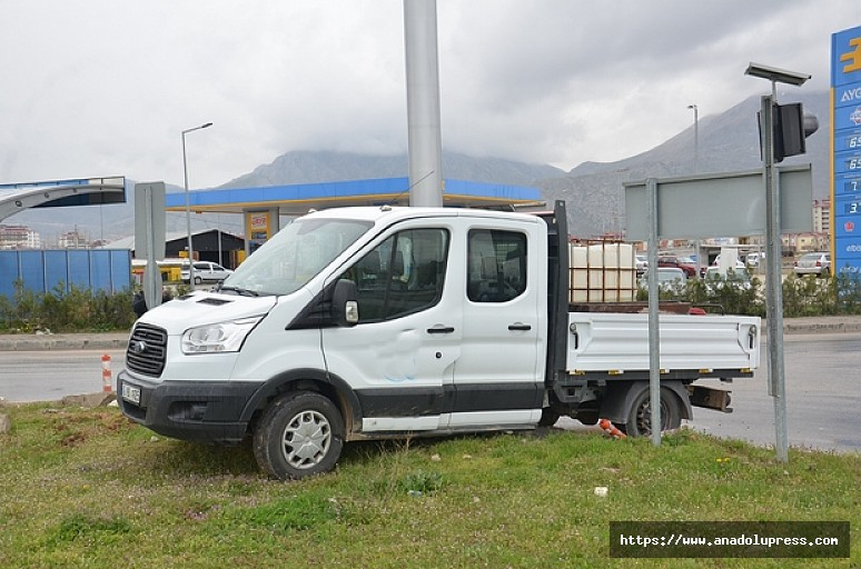 Kahramanmaraş'ta kaza: 1 yaralı!