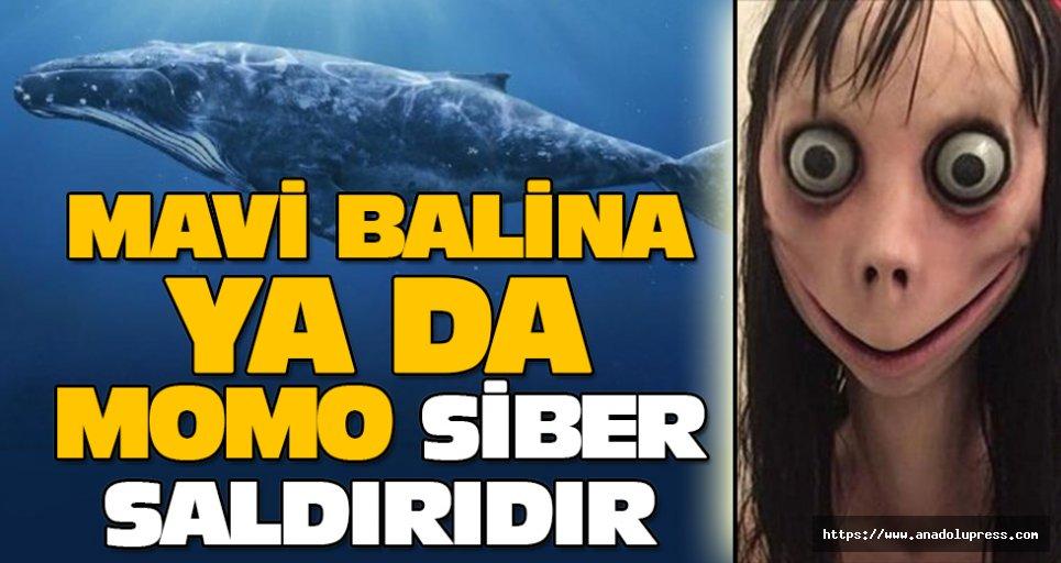 Mavi Balina ya da Momo siber saldırıdır