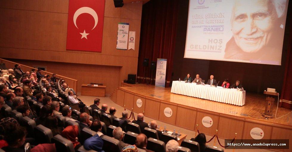 Türk Şiirinin Beyaz Kartalı için panel düzenlendi