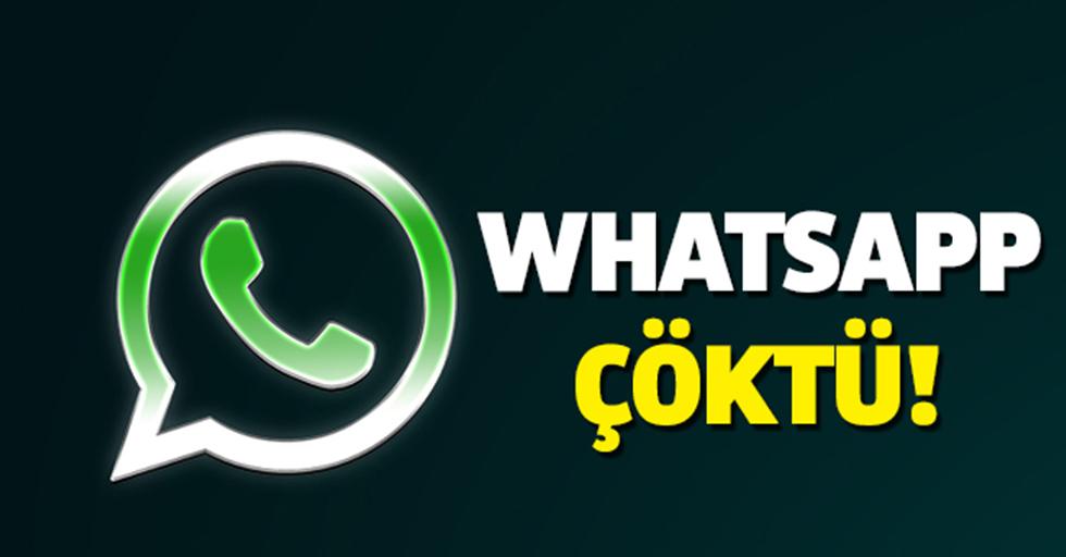 Whatsapp, Instagram, Twitter ve Facebook çöktü mü?