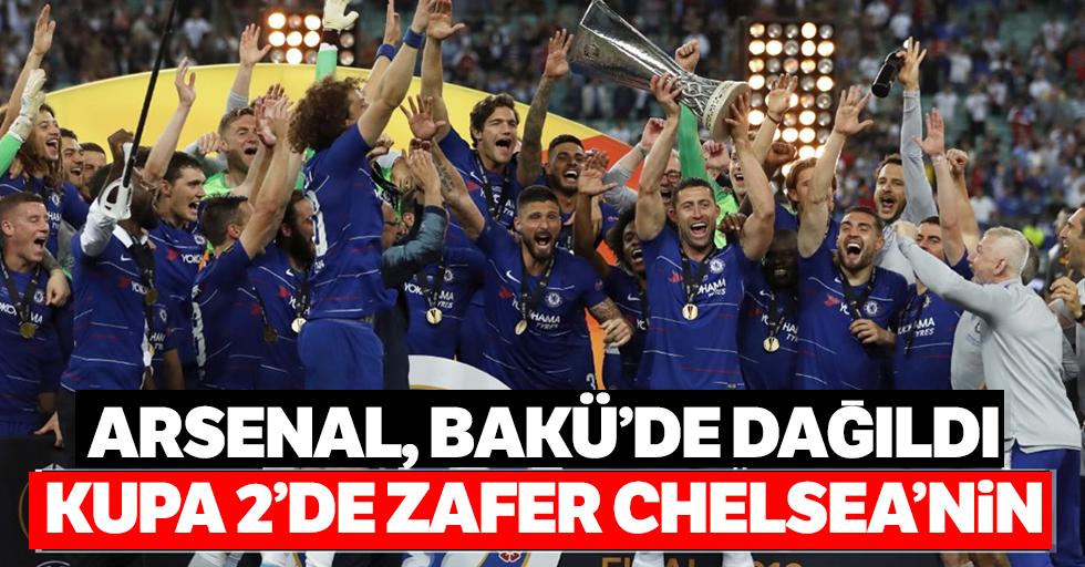 Arsenaldağıldı,UEFA Avrupa Ligi'nde zaferChelsea'nin