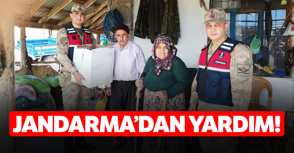 Jandarma'dan yardım!