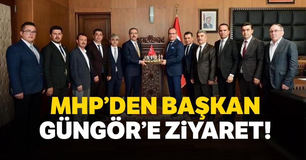 MHP'den Başkan Güngör'e ziyaret!