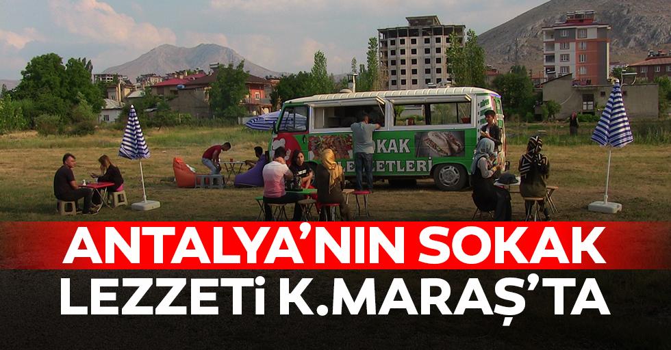 Antalya'nın sokak lezzeti Kahramanmaraş'ta