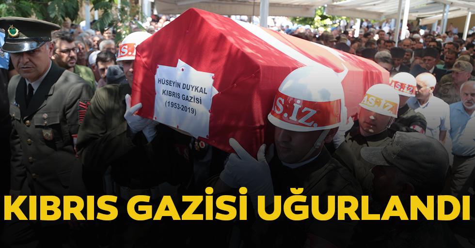 Kıbrıs Gazisi Uğurlandı