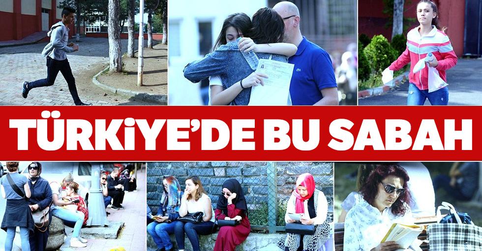 Türkiye'de sınav zamanı!