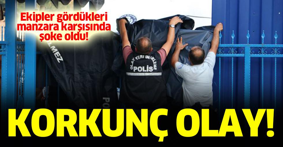Antalya'da boynunda plastik kelepçeler olan ceset bulundu
