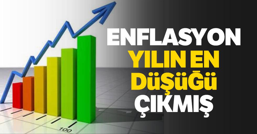 EnflasyonYılın En Düşüğü Çıkmış