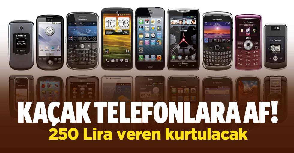 IMEI numaralarını kaçak telefonlara kopyalayanlara af