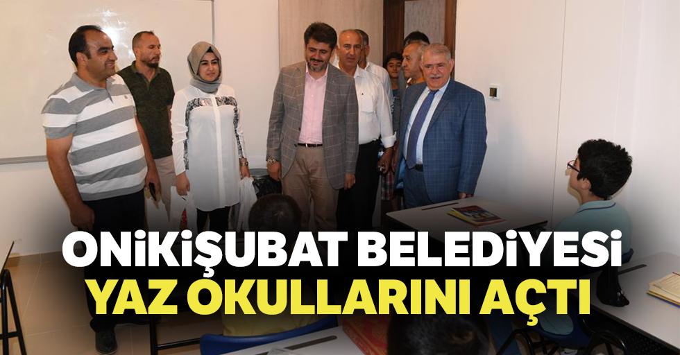Onikişubat Belediyesi, Yaz Okullarını açtı