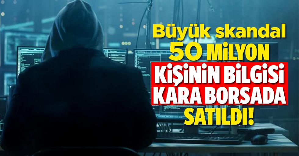 Skandal! GSM firması şifresi ele geçirildi 50 milyon kişinin bilgileri karaborsada satıldı!