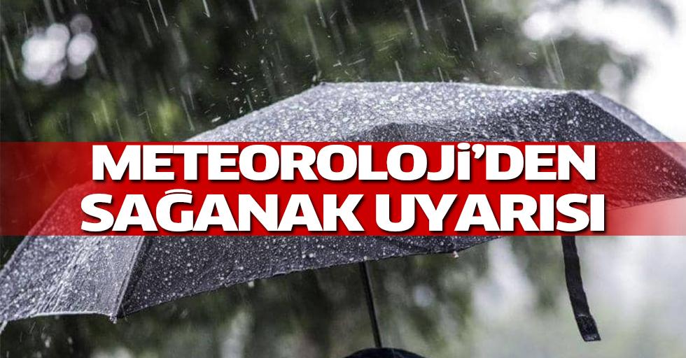Yurt genelinde sağanak yağış uyarısı