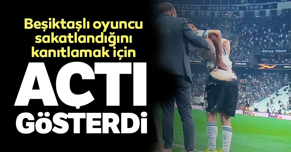 Beşiktaşlı oyuncu, maçta mabadını açtı!