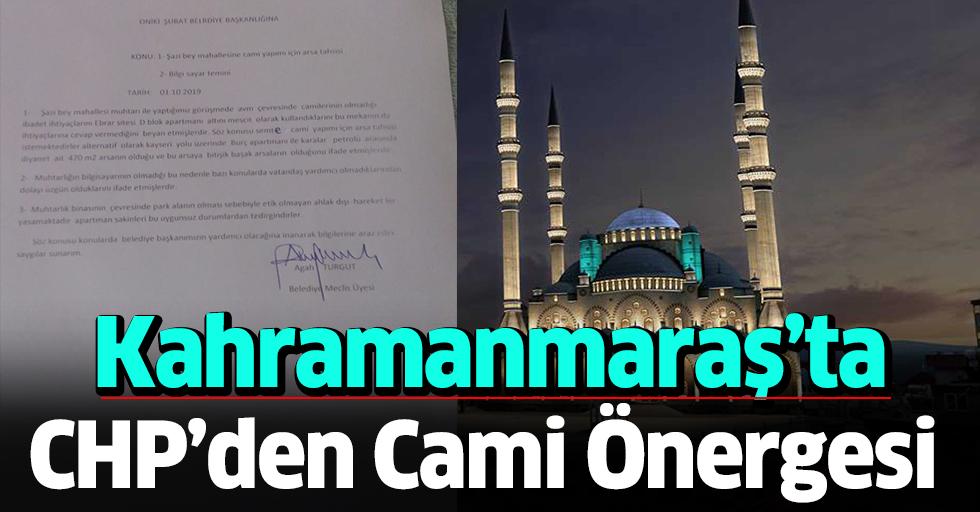 CHP'den Cami Önergesi