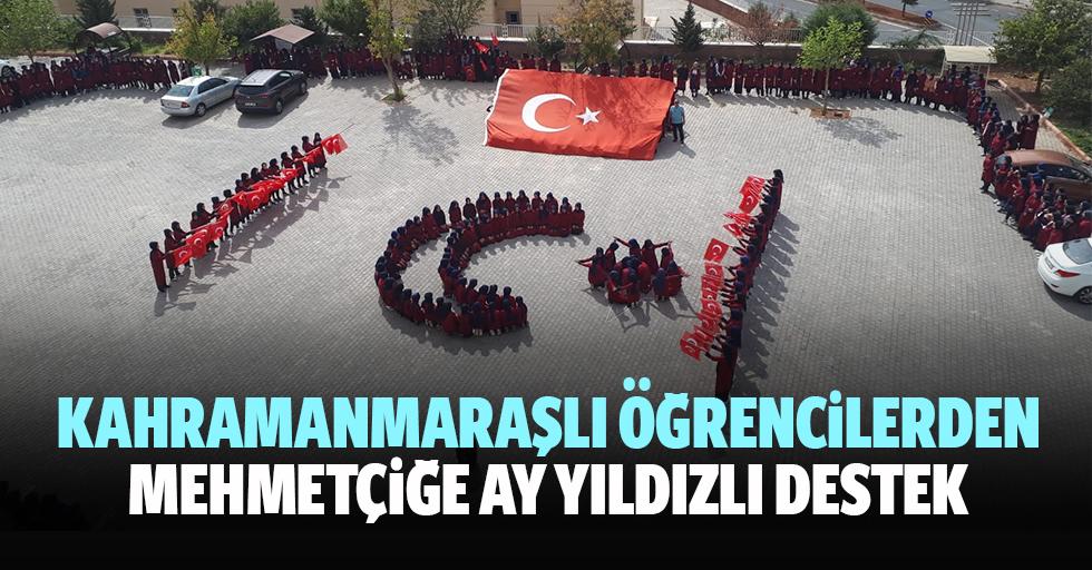 Kahramanmaraşlı Öğrencilerden Mehmetçiğe Ay Yıldızlı Destek