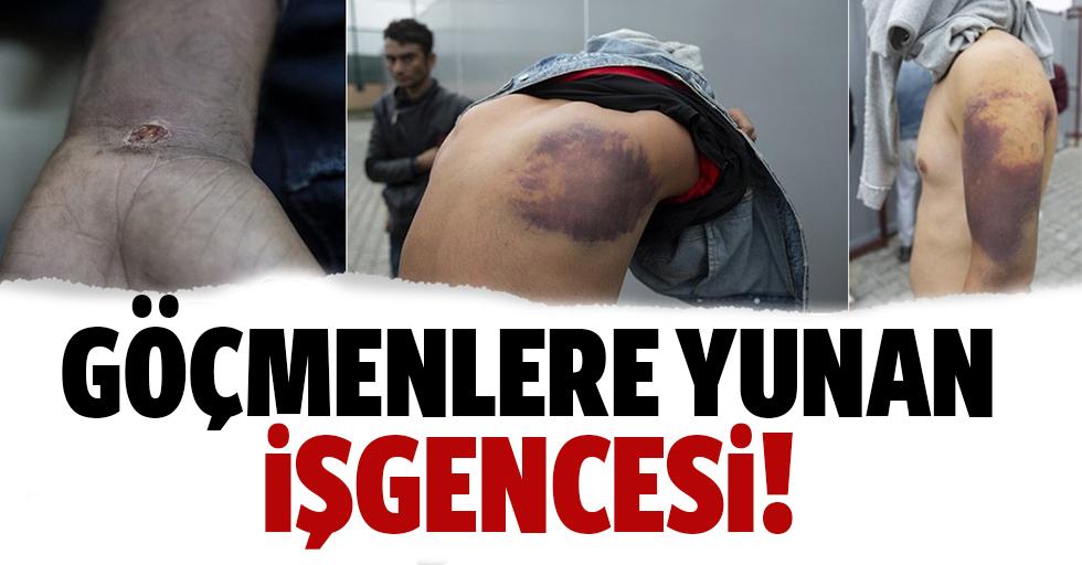Göçmenlere Yunan işkencesi!