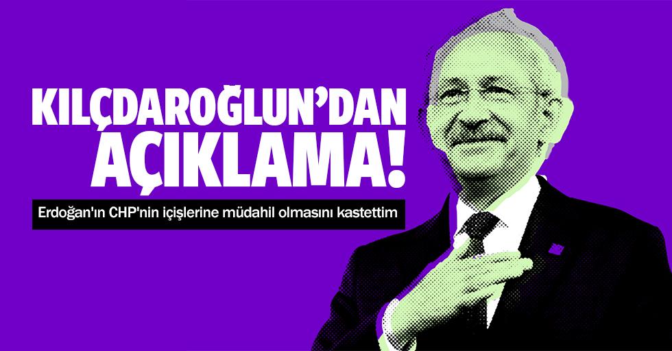 Kılıçdaroğlu'ndan açıklama!