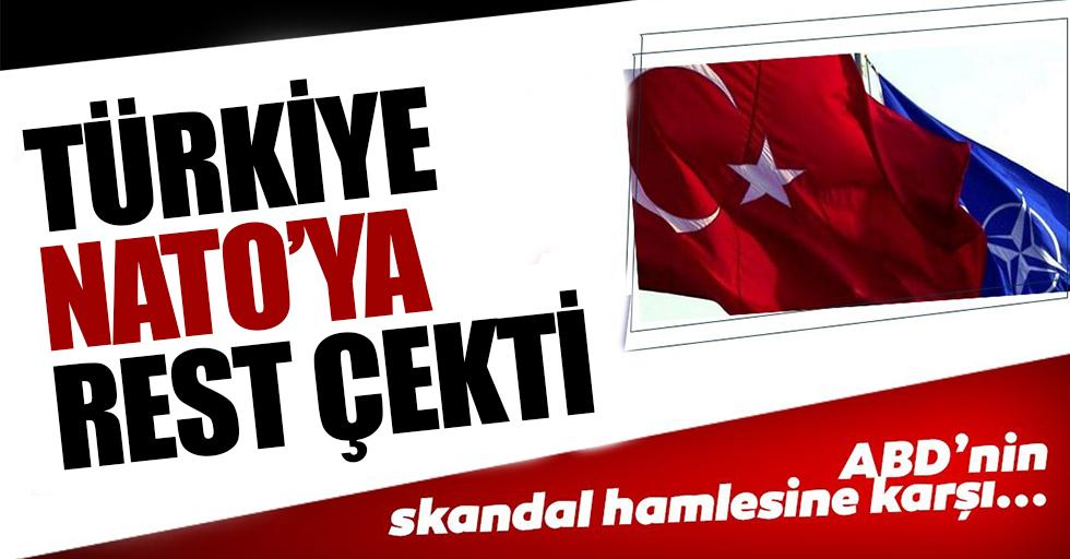 NATO'da, ABD'nin skandal adımına karşı Türkiye'den rest!
