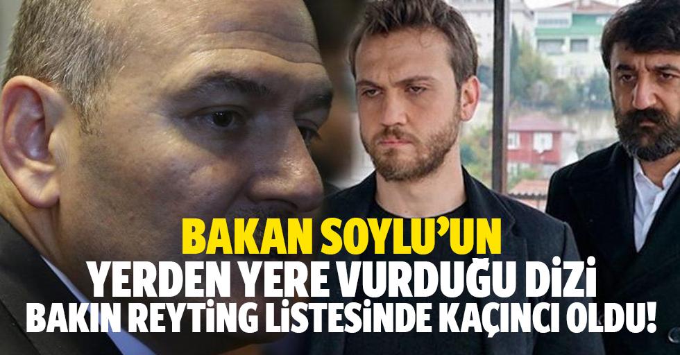 Süleyman Soylu'nun 'Lanet' dediği dizi reytingde kaçıncı oldu!