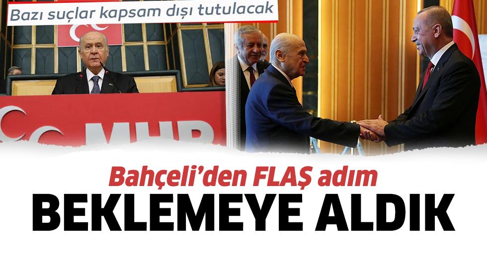 MHP 'ceza indirimi' teklifini beklemeye aldı
