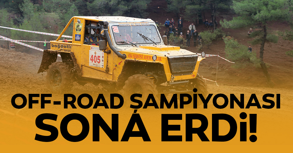 Off-road şampiyonası sona erdi!