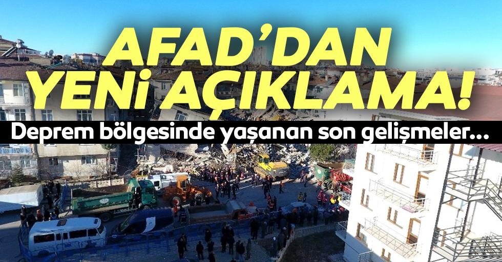 AFAD'dan yeni açıklama!