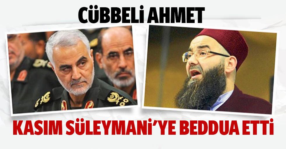 Cübbeli Ahmet Hoca, Kasım Süleymani'ye beddua etti