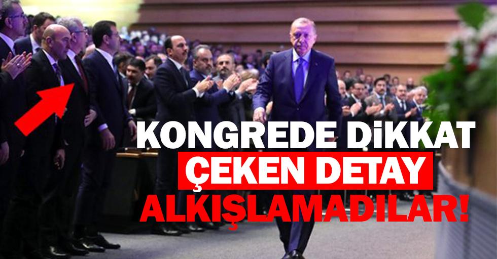Cumhurbaşkanı Erdoğan'ı alkışlamaması dikkat çekti
