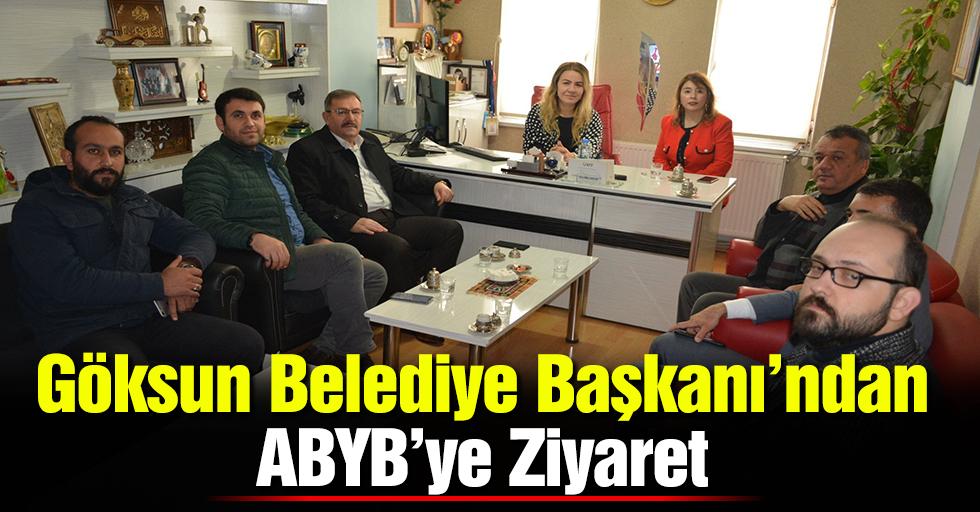 Göksun Belediye Başkanı'ndan ABYB'ye Ziyaret