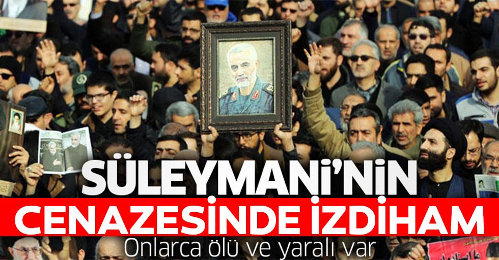 Kasım Süleymani cenazesinde izdiham!