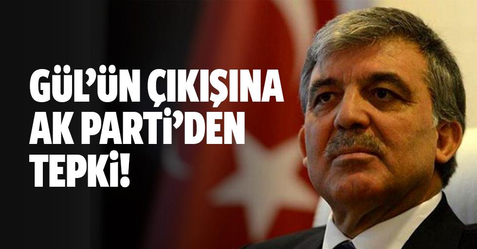 Abdullah Gül'ün Gezi Parkı'yla ilgili sözlerine AK Parti'den ilk tepki Süleyman Soylu'dan geldi
