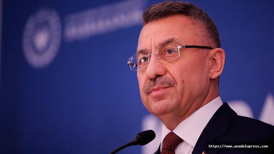 Cumhurbaşkanı Yardımcısı Oktay: Kapalı Maraş'ın Açılması Laftan İbaret Değildir