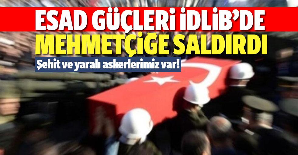 Esad güçleri Mehmetçiğe saldırdı! Şehit ve yaralı askerlerimiz var