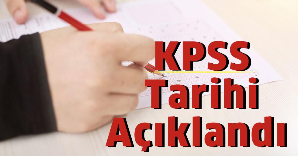 KPSS Tarihi Açıklandı