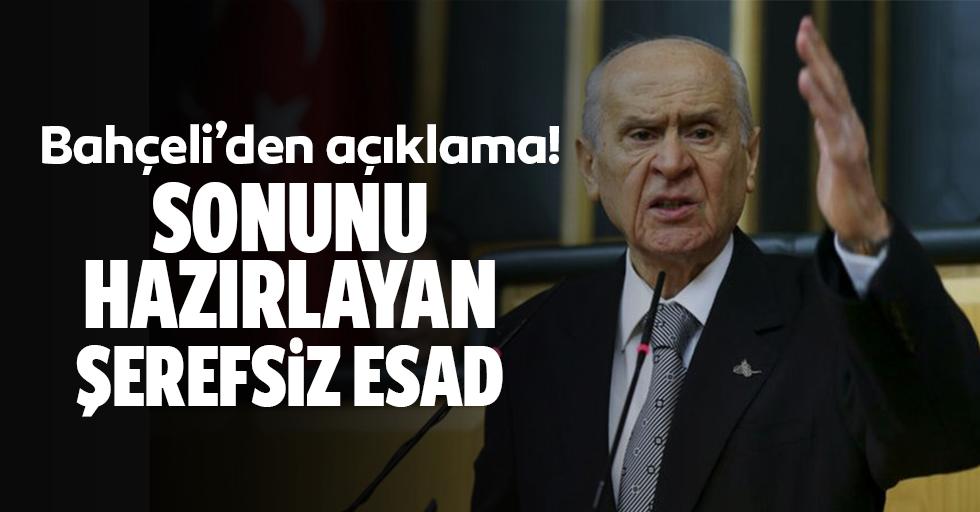 MHP lideri Bahçeli'den çok sert açıklama