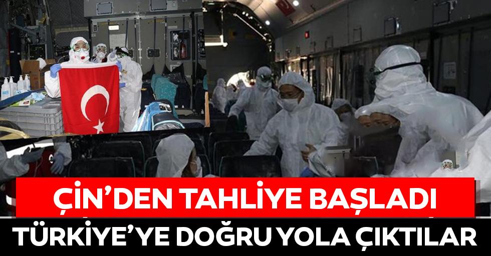 Milli Savunma Bakanlığı duyurdu: 'Vuhan'daki Türkler tahliye edildi'