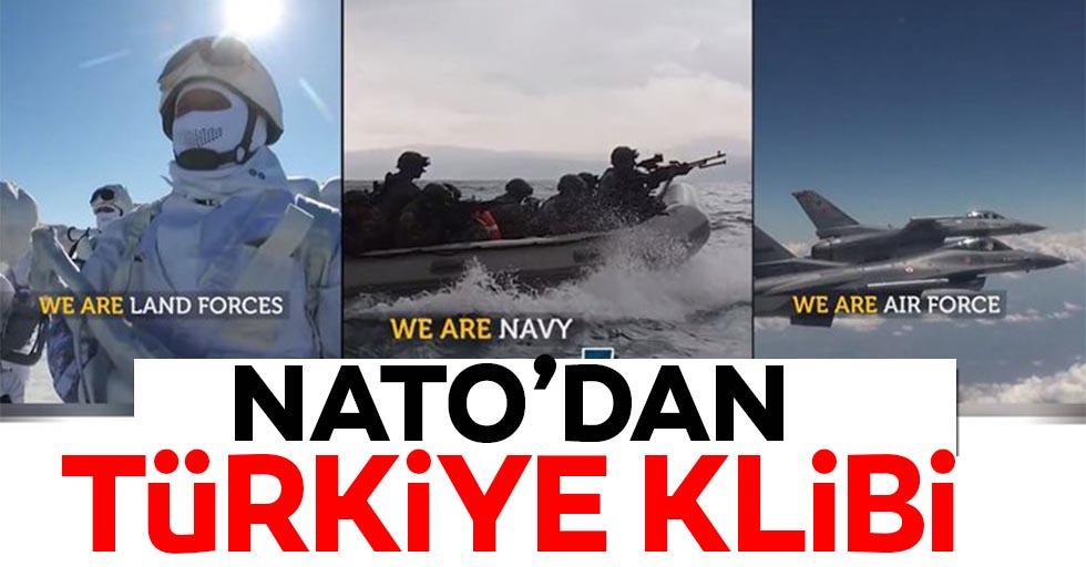 NATO'dan Türkiye'ye destek klibi!