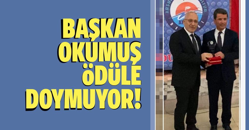 Osman Okumuş ödüle doymuyor!