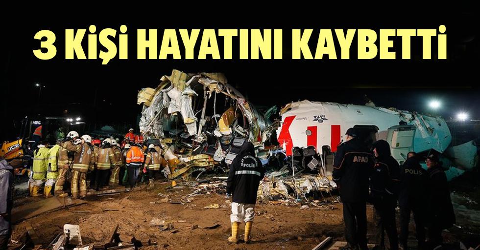 Pegasus uçağından acı haber: 3 kişi hayatını kaybetti